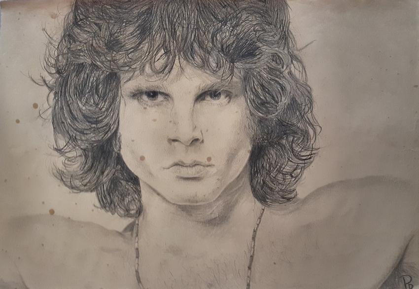 Jim Morrison by eyes94
